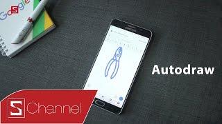 Schannel - Vẽ xấu cũng tự biến thành đẹp với ứng dụng Auto Draw!
