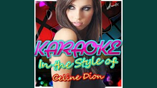 The Prayer (2002 Version) (In the Style of Celine Dion) (Karaoke Version)