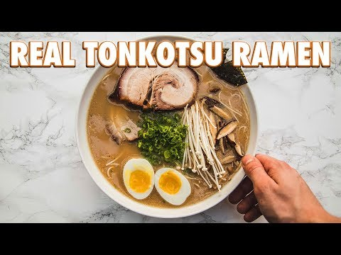 How To Make Real Tonkotsu Ramen