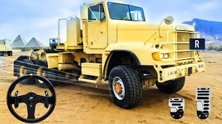 Offroad US Army Truck Driving - 4x4 Trucks Parking | Best Android Gameplay