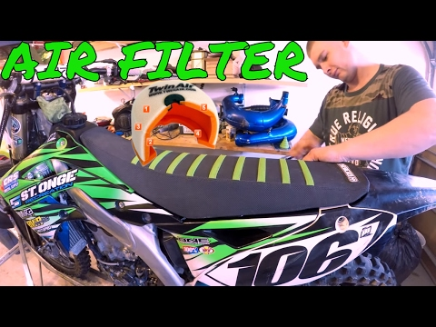DIRT BIKE AIR FILTER HOW TO CLEAN AND OIL OR REPLACE: Enduro Skills