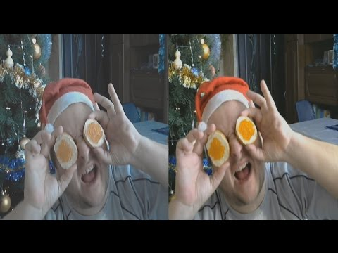 Morning of January 1 in 3D ! Where I am ? Who am I ? ( side-by-side )