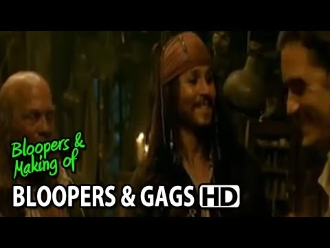 Pirates of the Caribbean: Dead Man's Chest (2006) Bloopers Outtakes Gag Reel, Pirates of the Caribbean: Dead Man's Chest (2006) Bloopers Outtakes Gag Reel