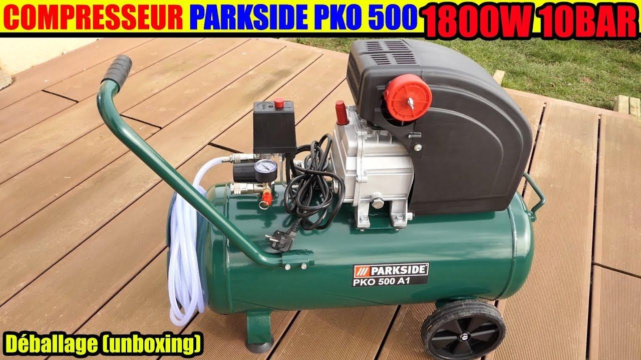 Compresseur Parkside Lidl Pko 270 1800w 24l Air Compressor Kompressor