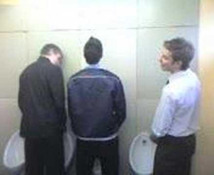 training Gay toilet