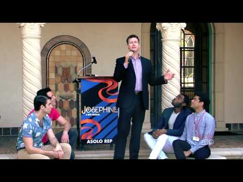 """Josephine"" Press Event - Kevin Earley and Male Ensemble Perform ""Who Cares"""
