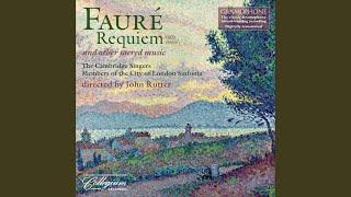Requiem, Op. 48: Sanctus