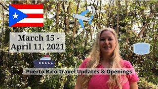Puerto Rico Travel Updates and Restrictions March 15 - April 11, 2021   Travel Puerto Rico