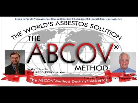 Beyond Recycling: Challenges of Chemical Clean-Up of Asbestos - The ABCOV® Method