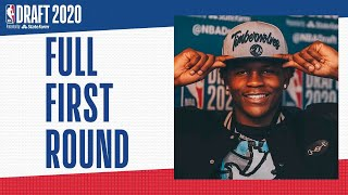 All 30 First Round Picks   2020 #NBADraft
