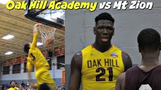 Cole Anthony THROWS DOWN 1st Dunk Of The Season! Oak Hill Academy 3 0