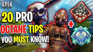 Apex Legends OCTANE GUIDE! - 20 PRO TIPS AND TRICKS To Help You Learn Octane!