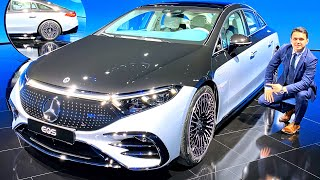 2022 Mercedes EQS NEW S Class - FULL Review Automatic Doors Interior Exterior