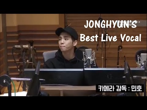 '(종현) JONGHYUN'S best live vocal performance'