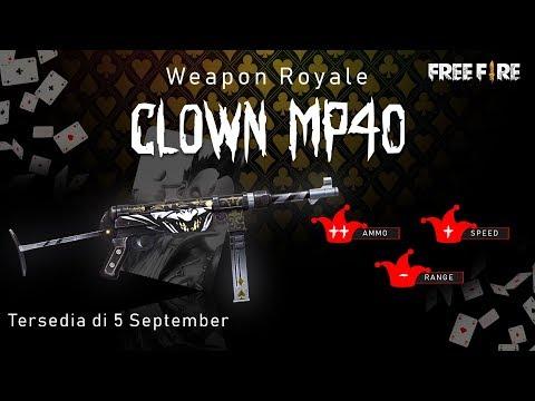 Novo Arma Royale: MP40 Palhaço
