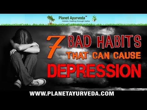Avoid 7 Bad Habits that Make You Depression