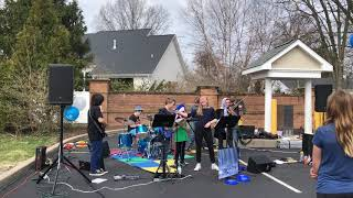 Baby Shark played by Everlasting Monsoon 2019 04 06. Peoples Bank Opening.