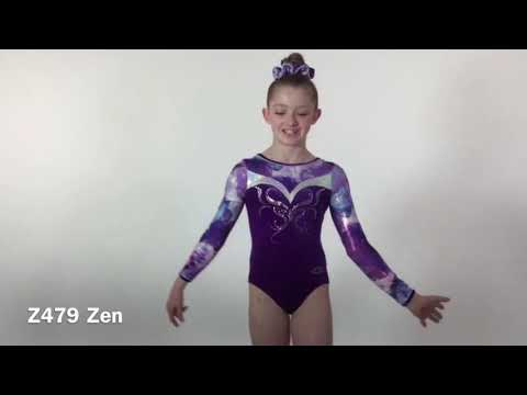 Zen Long Sleeve Gymnastics Leotard