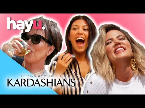 Have A Drink With The Kardashians 🥂  | Keeping Up With The Kardashians