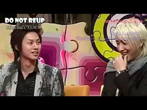 ENGSUB Angry Heechul because Hankyung doesn't like him as a personal translator