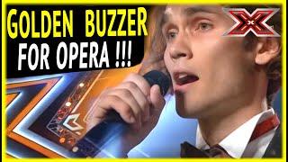 Alexander sings Opera on X-Factor and gets GOLDEN BUZZER !!!