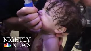 As Chemical Weapons Inspectors Reach Douma, Syria Says Suspected Attack Was Fake | NBC Nightly News