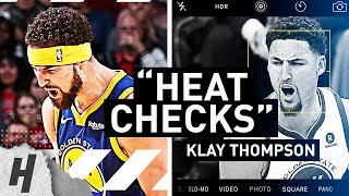 Klay Thompson's GREATEST HEAT CHECK MOMENTS & EPIC 3 Pointers YOU'VE EVER SEEN!