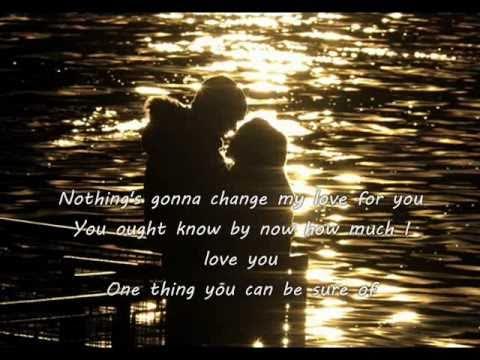 Nothing's Gonna Change My Love For You - Glenn Medeiros lyrics