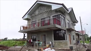 Merz's new custom home in the Barotac, Iloilo Philippines.  Build your dream home here!