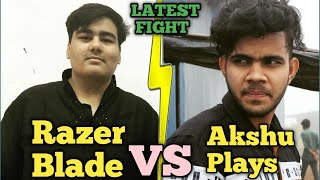 Razer Blade Vs Akshu iwnl | Razer Blade Team Vs Akshu Plays Fight in Military Base| Pubg emulator