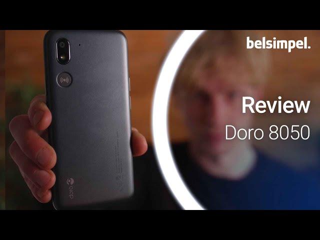 Belsimpel-productvideo voor de Doro 8050 Black