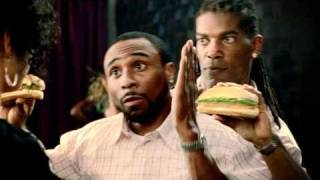 Burger King commercial 2 for 1 chicken sandwhich- Helping Hands