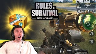 HIGH KILLS IN NEW FIRST PERSON MODE ON PC IN RULES OF SURVIVAL!!