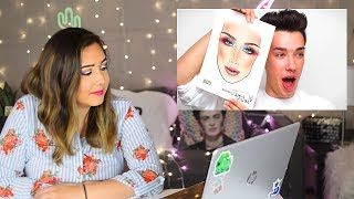 Professional Artist Reacts to James Charles Drawing