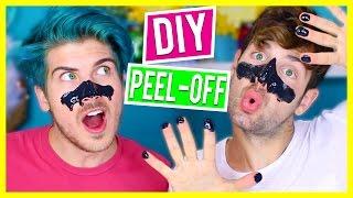 DIY BLACK HEAD NOSE PEEL!