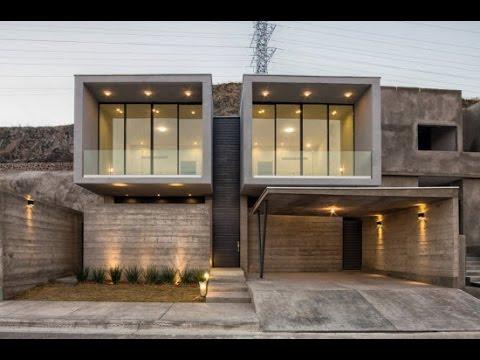 Planos de casa de hormig n de dos pisos musica movil for Casa moderna minimalista 6 00 m x 12 50 m 220 m2