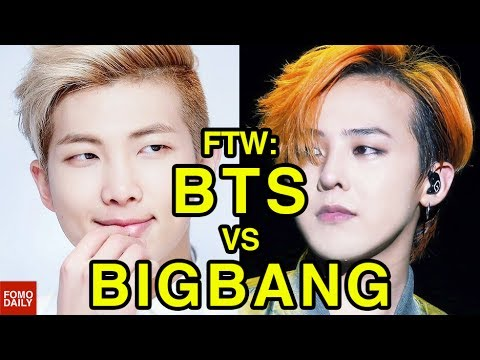 BTS vs BIGBANG • For The Win