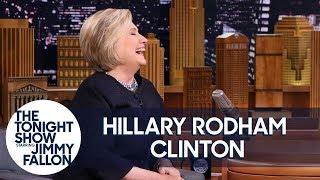 Hillary Clinton on Kate McKinnon and Alec Baldwin's
