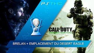 Call of Duty : Modern Warfare Remastered - Trophée Brelan + Emplacement du Desert Eagle
