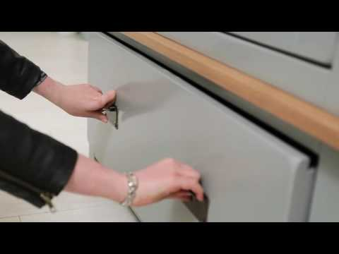 New Hampshire 2 Door 1 Drawer Wardrobe - Grey & Oak