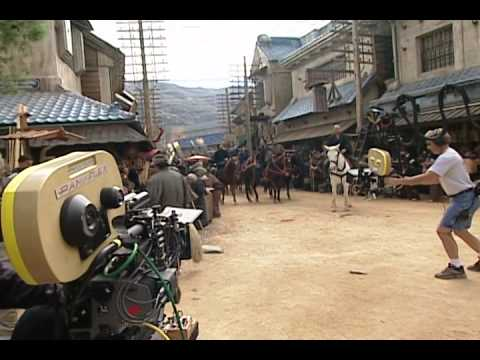 the making of the last samurai