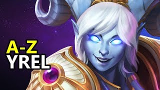 ♥ A - Z Yrel -  Heroes of the Storm (HotS Gameplay)