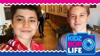 KIDZ BOP Life: Vlog # 20 - Tour Rehearsals with Shane