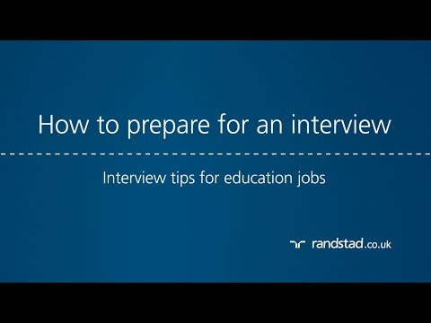 How to prepare for an interview: Interview tips for education jobs