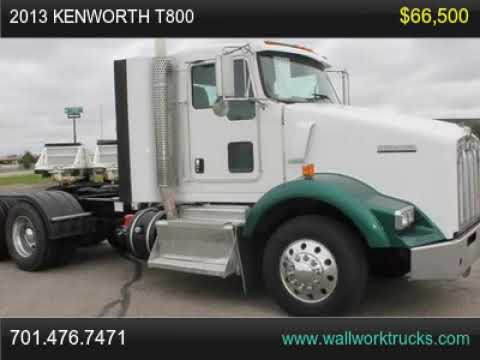 2013 Kenworth T800 For Sale, Fargo, NOrth Dakota