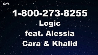 1-800-273-8255 ft. Alessia Cara & Khalid - Logic Karaoke 【With Guide Melody】 Instrumental