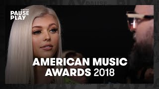 AMAs 2018   Kris Wu, Loren Gray & Kane Brown   What would be your last meal?