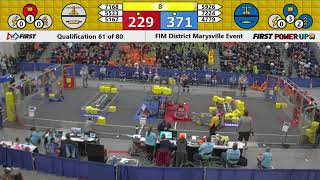 2018 Marysville Qualification Match 61