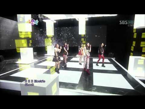 에프엑스 (F(x)) [Electric Shock] @SBS gayodaejun 가요대전 20121229