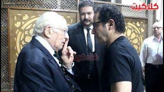 شاهد ماذا قال الفنان رشوان توفيق للفنان أحمد حلمي أثناء حضوره ...